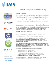Understanding Backup and Recovery