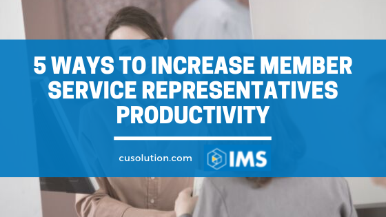 member service representatives productivity