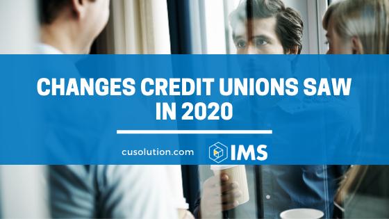 credit unions 2020