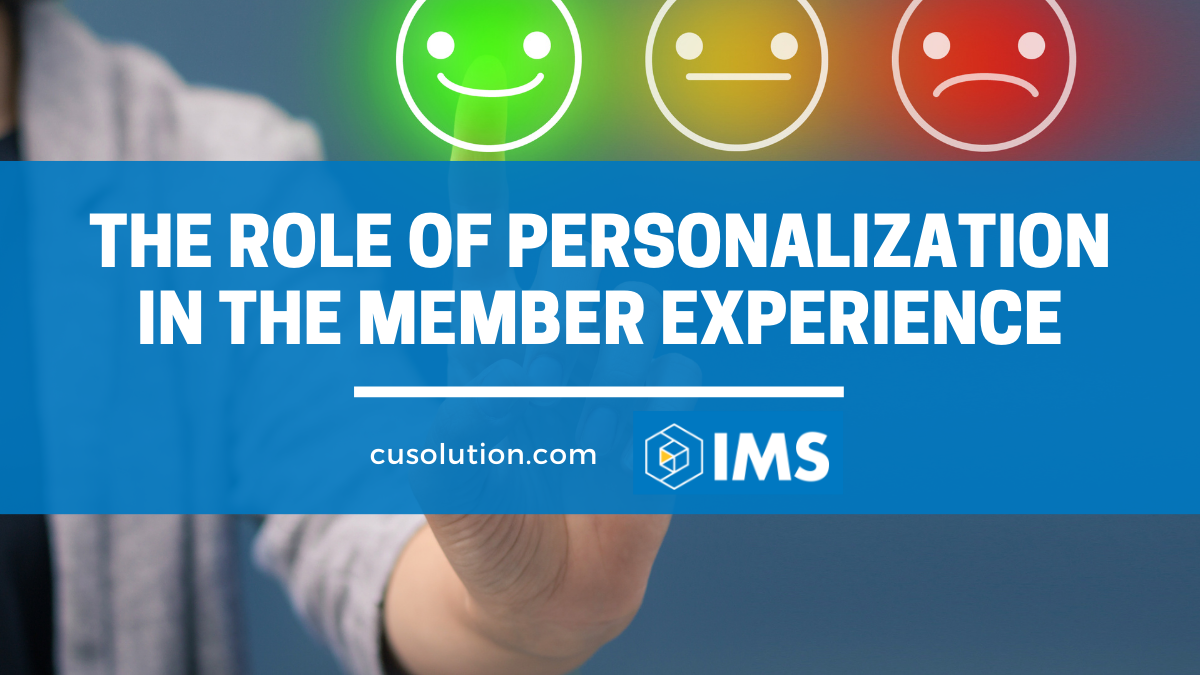 personalization and the member experience